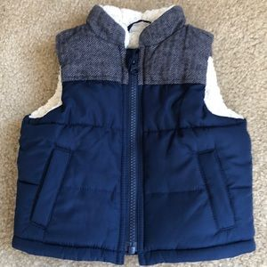 Gap baby boy vest